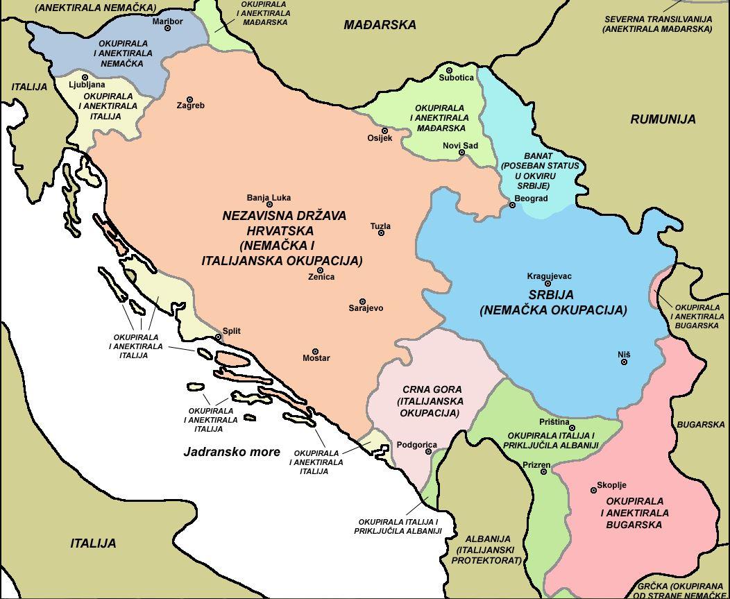 Окупирана краљевина Југославија